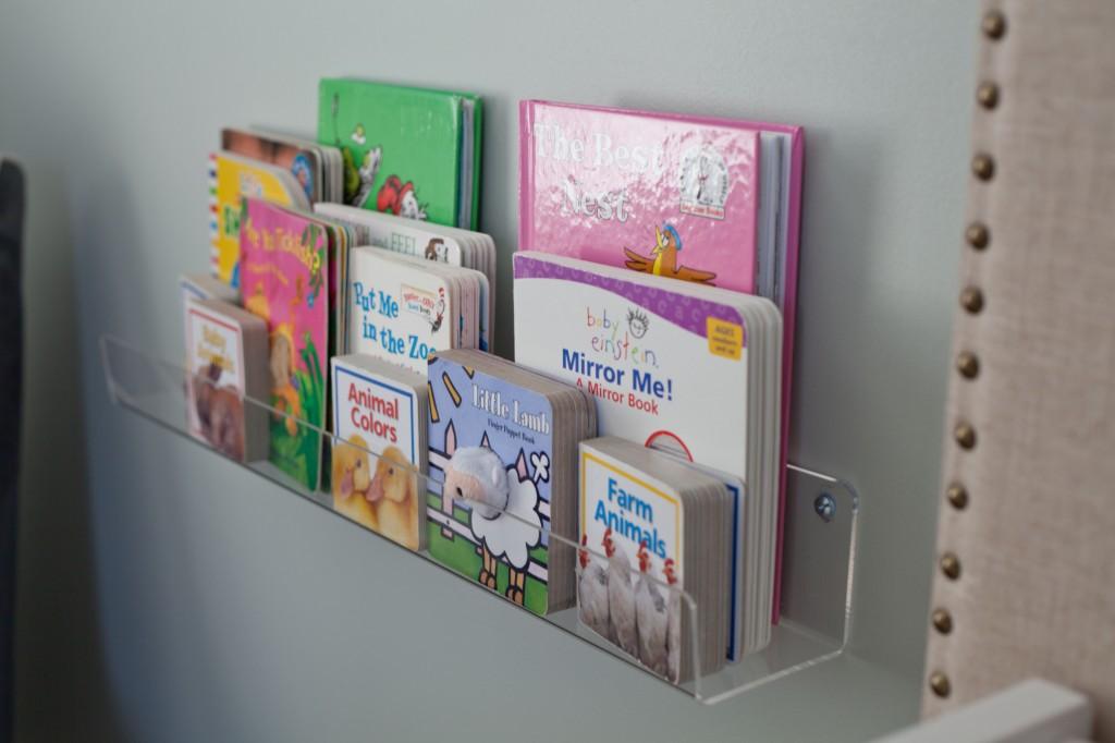 Amy S Nursery Book Storage