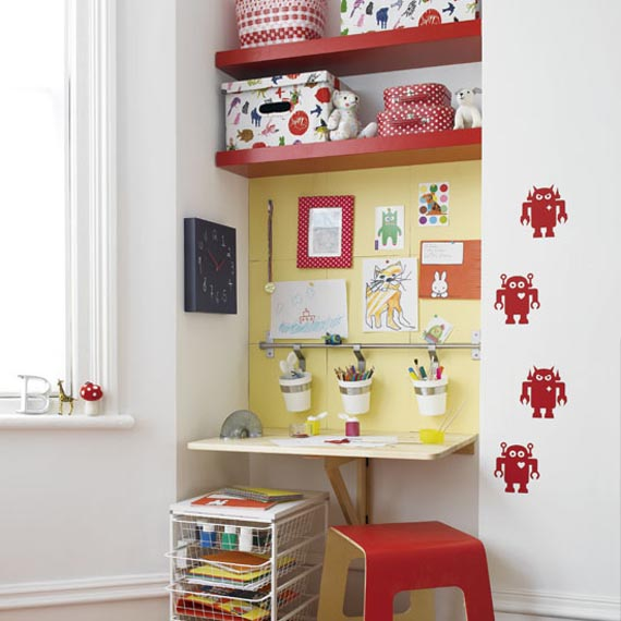 Back To School Kids' Study Spaces