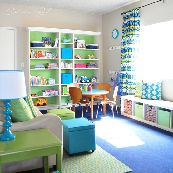 Kids Study Area Ideas: Back To School Kids' Study Spaces