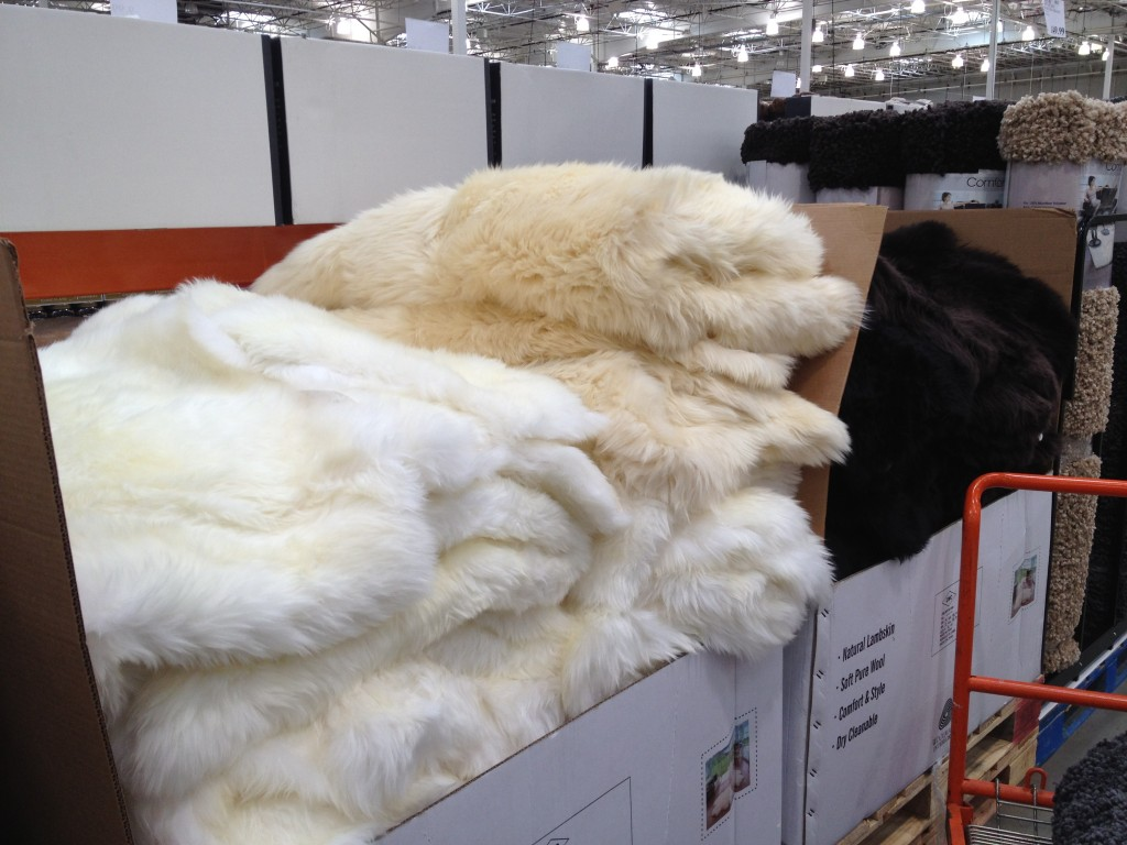 sheepskin rugs at costco