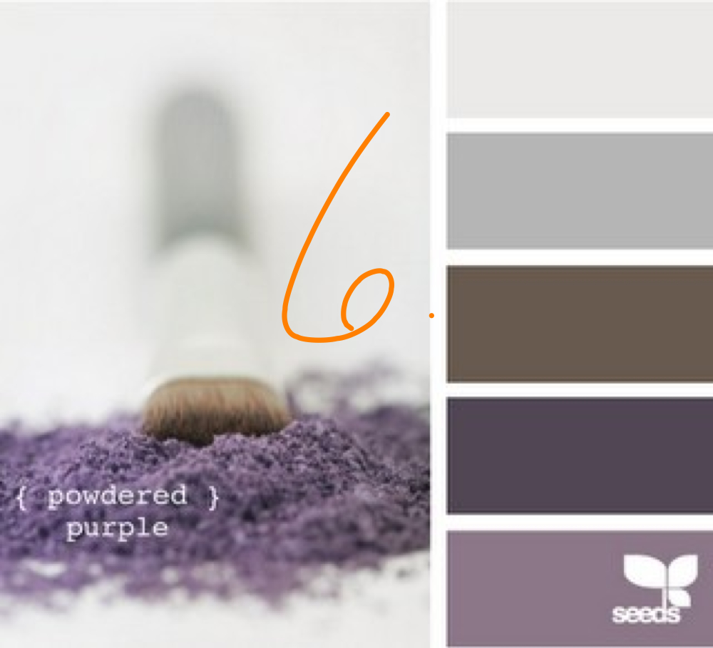 Color Swatch Plum Grey