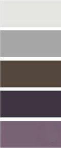 Grey Plum Brown Color Palette
