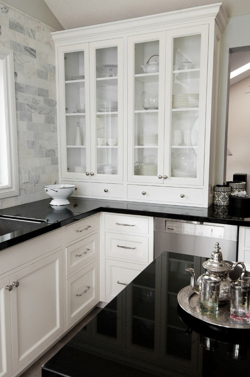 Shannon Cabinetry via Houzz  twoinspiredesign