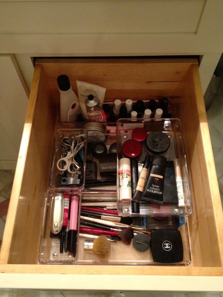 Cosmetic drawer after