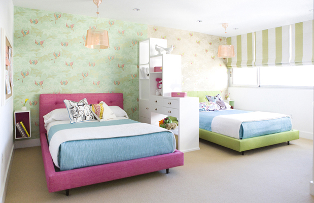 ideas for girls sharing a bedroom twoinspiredesign ForBedroom Ideas For Girls Sharing A Room