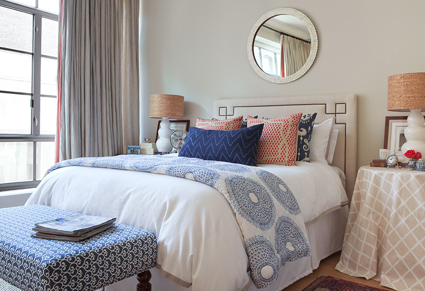 Mixing Patterns In A Bedroom. Mix Of Serena U0026 Lily ...