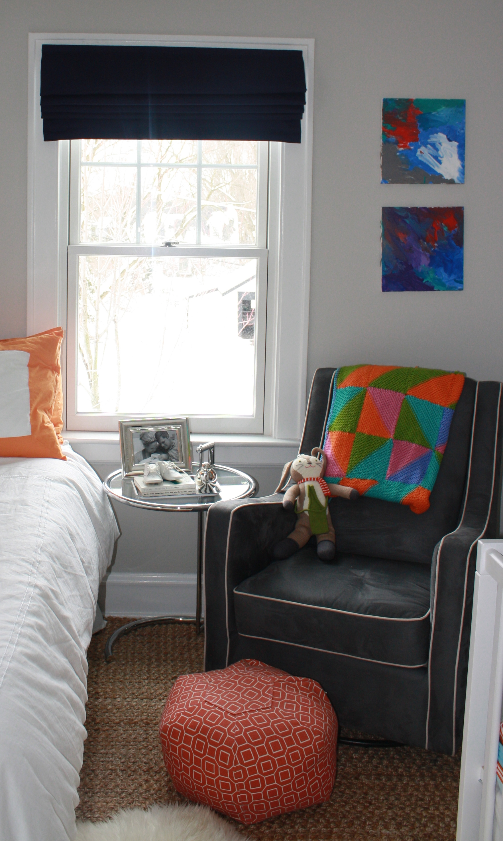The perfect roman shade for a kid s room twoinspiredesign - Roman shades for kids room ...
