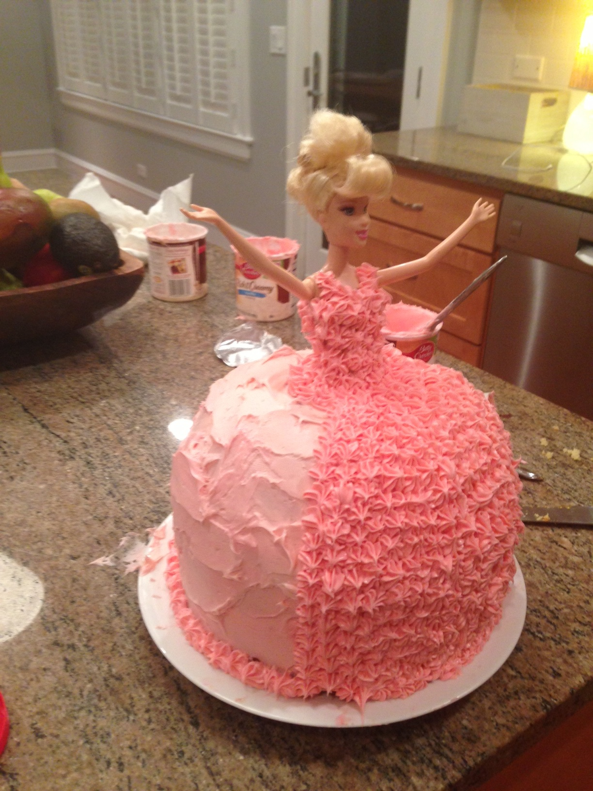 The Barbie Cake Twoinspiredesign