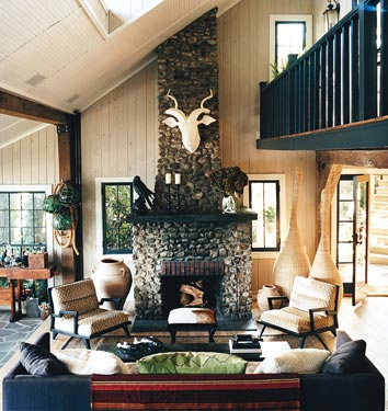 Thom Filicia Lake House an oldie but goodie: thom filicia's lake house | twoinspiredesign