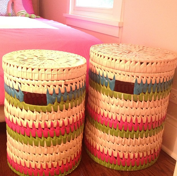 Serena & Lily storage baskets
