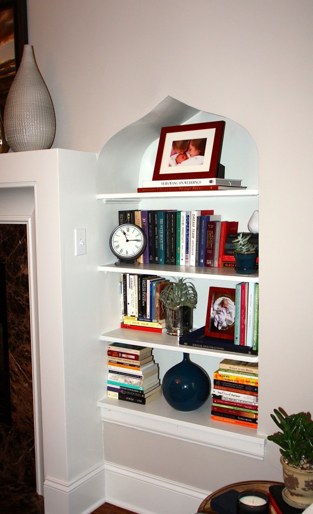 Kerri Bookshelf Styling After
