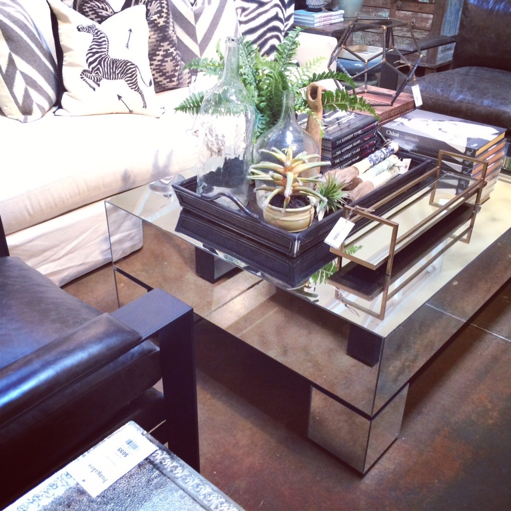 Phoenix Bungalow Mirrored Coffee Table
