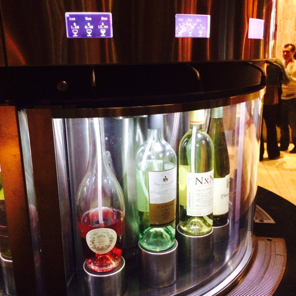 Phoenix iPic wine dispenser