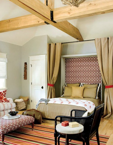 Murphy bed via Southern Living
