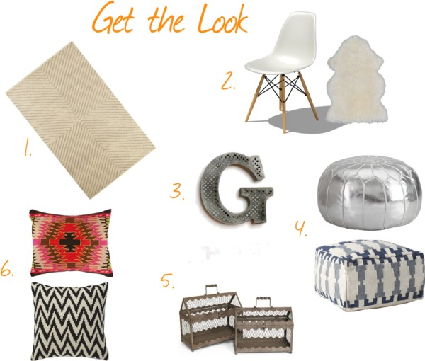 Get the Look Bohemian Living