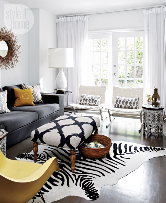 Style at Home 2014 eclectic-exotic-livingroom