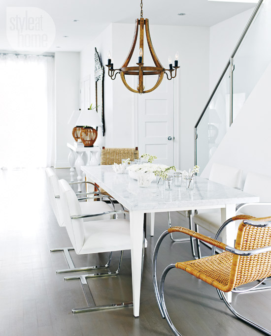 Style at Home eclectic-exotic-dining