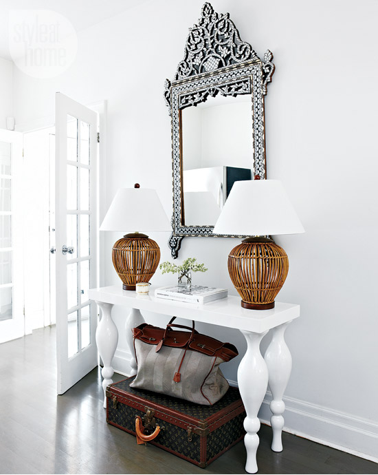 Style at Home eclectic-exotic-mirror