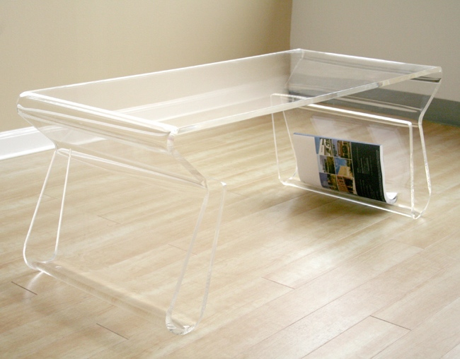 Get the look ghost coffee table twoinspiredesign Ghost coffee table