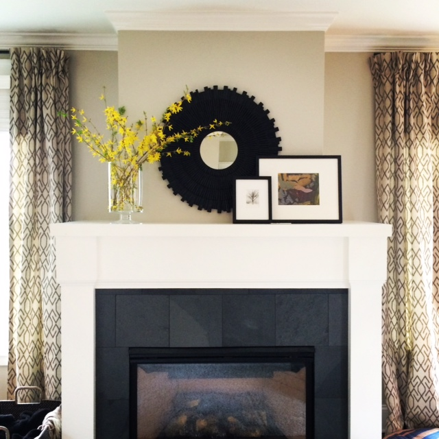 Tessa Fireplace Mantel