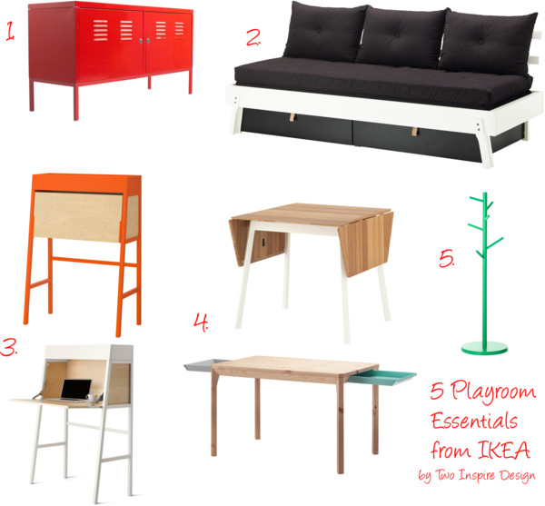 5 Playroom Essentials from IKEA PS Collection