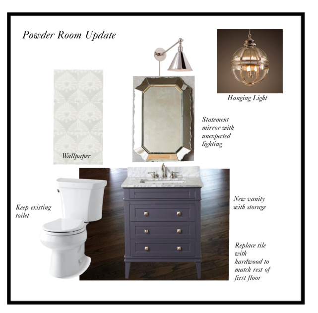 Client Powder Room Update