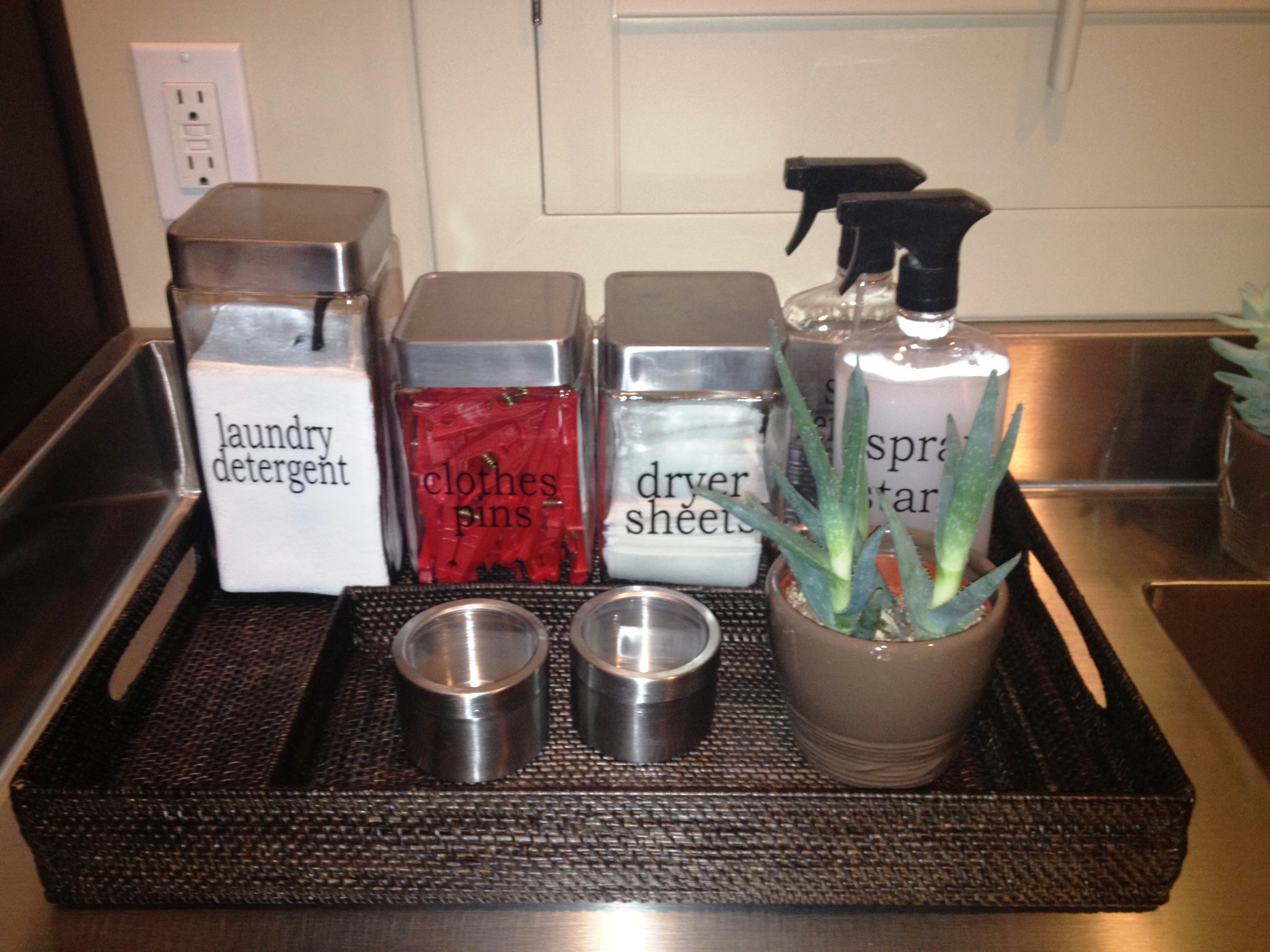 laundry room accessories | twoinspiredesign Laundry Room Accessories