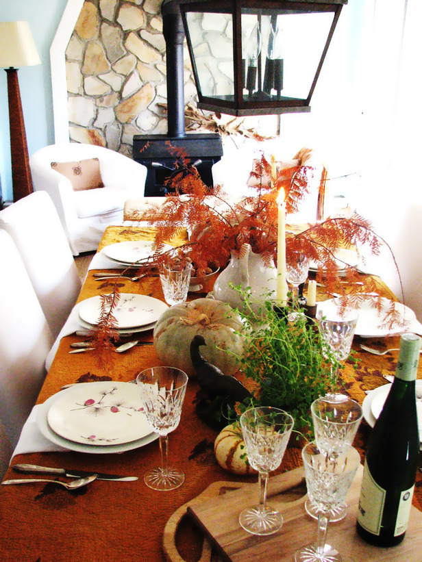 Thanksgiving Tablescapes | twoinspiredesign
